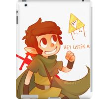 Hey Listen Kid! iPad Case/Skin