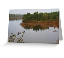 Cape Breton in the Fall Greeting Card