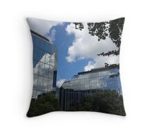 Cloud reflection Throw Pillow