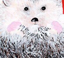 Hedgehog Holiday Sticker
