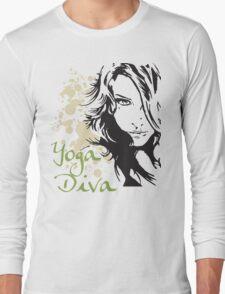 Yoga Diva Long Sleeve T-Shirt
