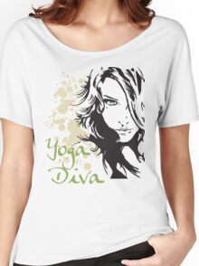 Yoga Diva Women's Relaxed Fit T-Shirt