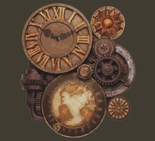 Gears and Clock by HighDesign