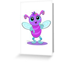Cute Baby Bug Greeting Card