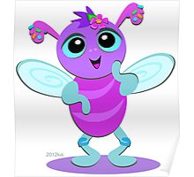 Cute Baby Bug Poster
