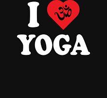 I Love Yoga T-Shirt Womens Fitted T-Shirt