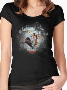 splatter king Women's Fitted Scoop T-Shirt
