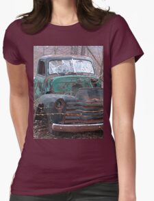 Retro Old Beast of a Truck Womens Fitted T-Shirt