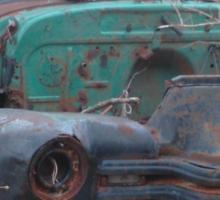 Retro Old Beast of a Truck Sticker
