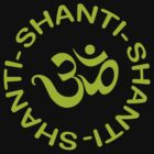 Yoga Shanti Shanti Shanti Om Yoga T-Shirt by T-ShirtsGifts
