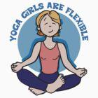 Funny Yogini Yoga T-Shirt by T-ShirtsGifts