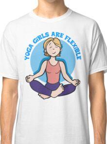 Funny Yogini Yoga T-Shirt Classic T-Shirt