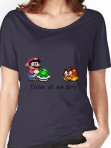 Come at me Bro (Mario) Women's Relaxed Fit T-Shirt