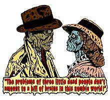 Zombieblanca Print by ZugArt