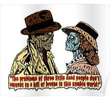 Zombieblanca Print Poster