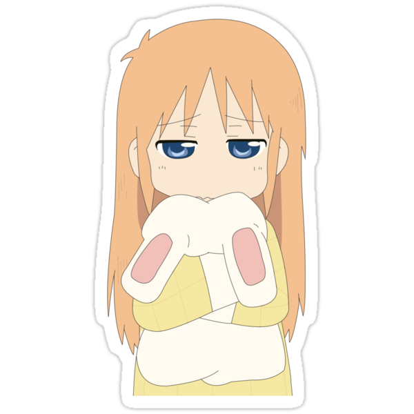 Nichijou - Sleepy Hakase by moonfirespam