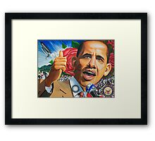 Art of Change (heritage museum painting) Framed Print