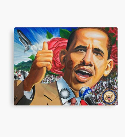 Art of Change (heritage museum painting) Canvas Print