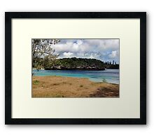Sacred Rock Framed Print