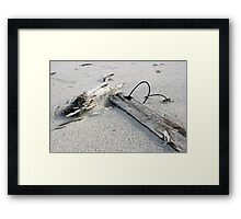 Wire & Sand Framed Print