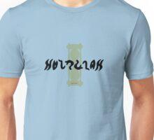 Hourglass Ambigram Unisex T-Shirt