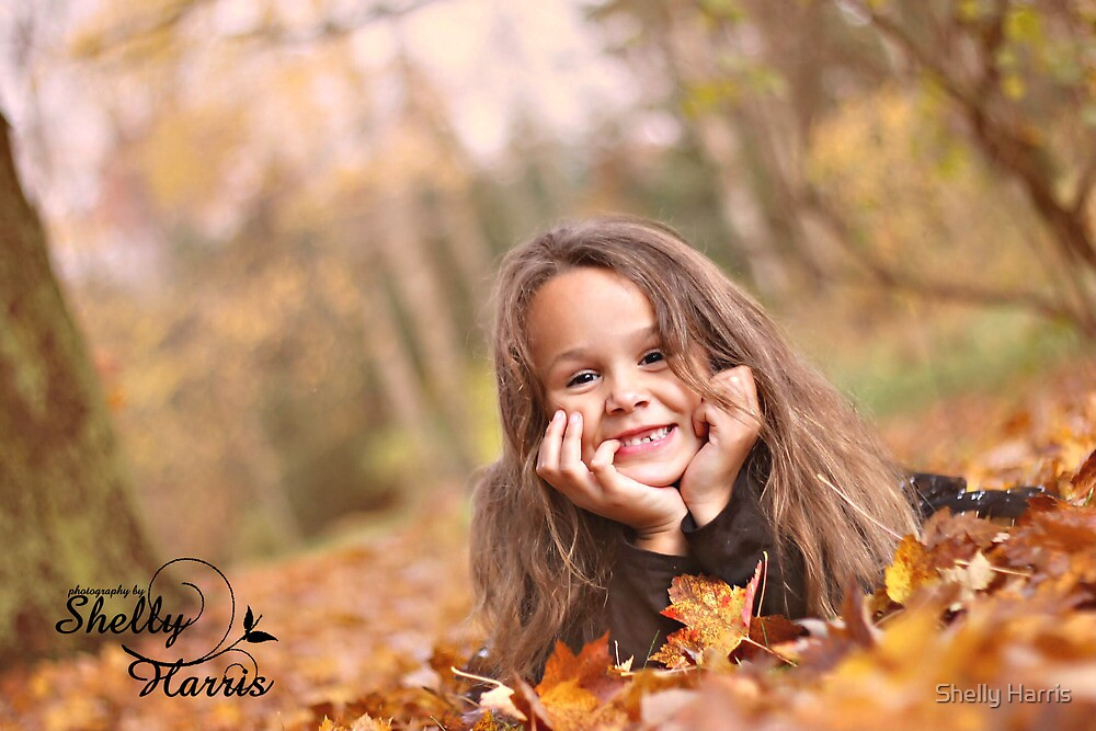 Autumn In The Leaves  by Shelly Harris