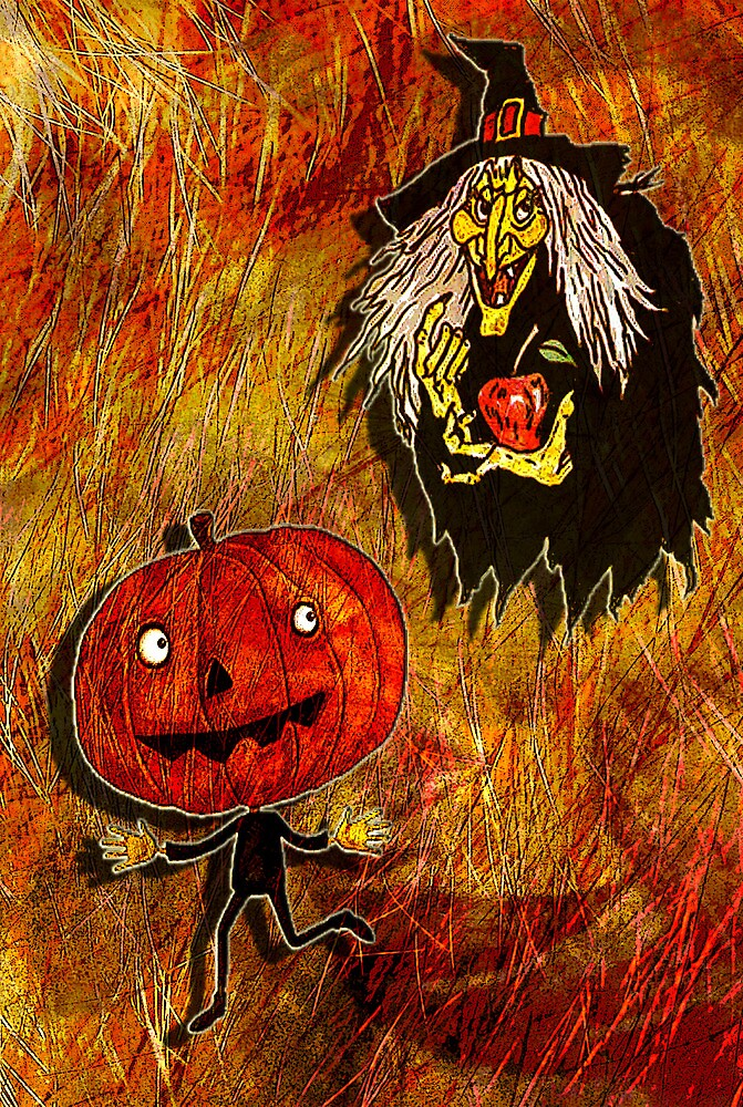 HALLOWEEN FRIGHTS 4 by Tammera