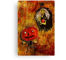 HALLOWEEN FRIGHTS 4 Canvas Print