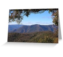 Budds Mare lookout view Greeting Card