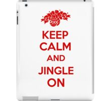 Keep Calm and Jingle On iPad Case/Skin
