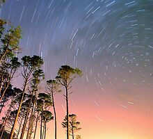 Outer Banks Night by Robin Lee