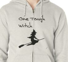 One Tough Witch Zipped Hoodie