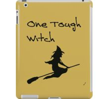 One Tough Witch iPad Case/Skin