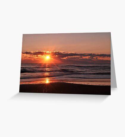 Sunrise in Rodanthe Greeting Card