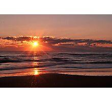 Sunrise in Rodanthe Photographic Print
