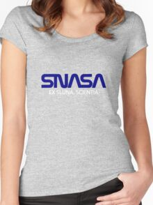 SecretNASA Women's Fitted Scoop T-Shirt