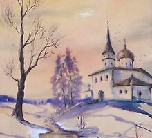 """From Russia with love"" by Marina Terkulova -Tesch"