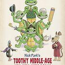Nick Park's TMNT by andyjhunter