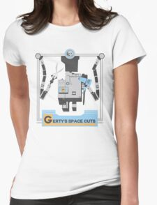 Gerty's Space Cuts Womens Fitted T-Shirt