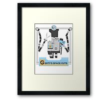 Gerty's Space Cuts Framed Print