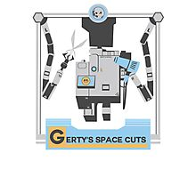 Gerty's Space Cuts Photographic Print