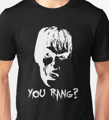 "Lurch ""You rang?"" White detailing  Unisex T-Shirt"