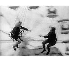 Swing Set Photographic Print