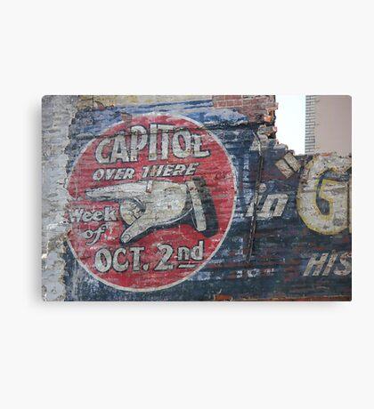 Capital Theatre  Canvas Print