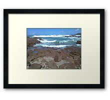The Ocean from Rockpools Framed Print