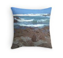 The Ocean from Rockpools Throw Pillow
