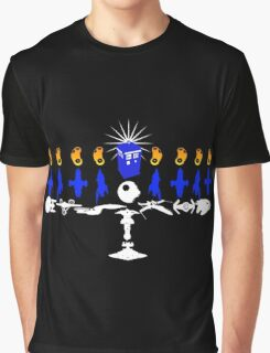 Geeky Hanukkah! Graphic T-Shirt