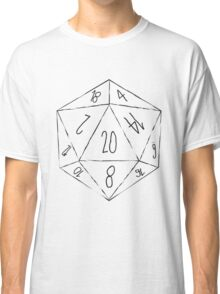 Messy D20 Classic T-Shirt