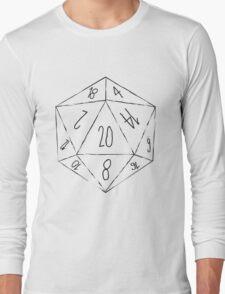 Messy D20 Long Sleeve T-Shirt