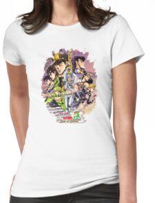 JoJo's Bizarre Adventure - Eyes of Heaven Womens Fitted T-Shirt